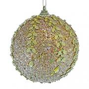 Елочные наборы шаров и украшений из папье-маше с бисером