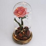 Стеклянные колбы с цветами