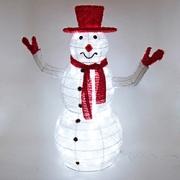 Фигуры со светодиодами и электрогирляндами для праздничного оформления интерьеров и витрин