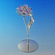 Цветы с элементами Сваровски