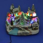 Новогодние декорации из полистоуна со светодиодами