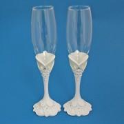 Купить красивые свадебные бокалы оптом