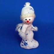 Снеговик: отличная новогодняя игрушка