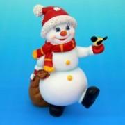 Новогодние фигурки снеговиков