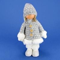 ZC-40522 (24) 16*8*28см. Мальчик в пальто и шапке