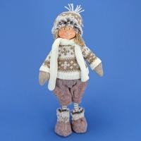 ZC-40530 (24) 19*13*35см. Мальчик в зимней одежде