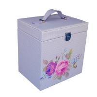WJ-63092 Шкатулка для ювелирных украшений и косметики 21.5*16.5*23см