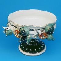 CD-11507 (4) Фруктовница керамическая 34*30*24см