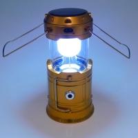 JH-5700T Фонарь кемпинговый малый 120*80мм в складном виде, d линзы 55мм