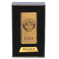 S-252-S Зажигалка CCCP с зарядкой USB 33*10*68мм