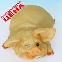 """PG-7969 (30) 9*13*5 см Фигурка """"Свинья"""", искусственный камень, пр-во SEALMARK (HONG KONG)"""