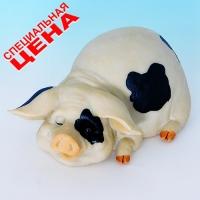 """PG-7972 (30) 11,5*8,5*6 см Фигурка """"Свинья"""", искусственный камень, пр-во SEALMARK (HONG KO"""