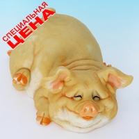 """PG-7977 (18) 15*10*5 см Фигурка """"Свинья"""", искусственный камень, пр-во SEALMARK (HONG KONG)"""