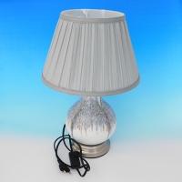 NI-02102 (6) Электрическая лампа с абажуром, керамика D=28 см, H=40 см