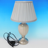 NI-02108 (6) Электрическая лампа с абажуром, керамика D=28 см, H=45 см