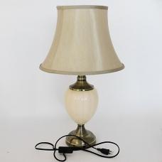 NI-02110 (6) Электрическая лампа с абажуром,, керамика D=37 см, H=60 см