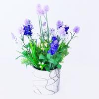 YW-00005 (12) Искусственный цветок в горшке