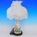 QP-80198L (4) d=36см, h=55см Лампа с фарфоровой статуэткой