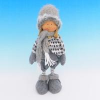 ZC-40538 (24) Мальчик в зимней одежде, 14*12*30см