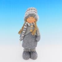 ZC-40539 (24) Девочка в зимней одежде, 14*12*30см