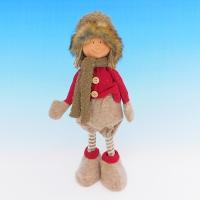 ZC-40540 (24) Мальчик в зимней одежде, 19*13*35см