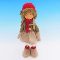 ZC-40541 (24) Девочка в зимней одежде, 19*13*35см