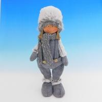 ZC-40542 (24) Мальчик в зимней одежде, 16*13*35см