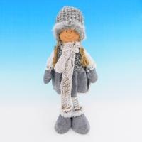 ZC-40543 (24) Девочка в зимней одежде, 16*13*35см