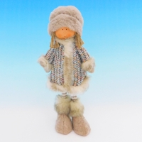 ZC-40549 (24) Мальчик в зимней одежде, 16*8*30см