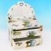 YW-00212 (24) Шкатулка для ювелирных украшений с зеркалом, 19,5*12*12 см