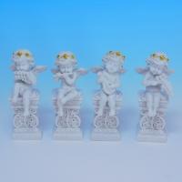 SC-87060 (18н.) Набор из 4-х ангелов 4.7*4.4*11.3/4.7*4.2*11.2см