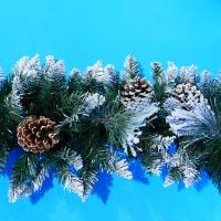 YW-00276 (10) Гирлянда в виде елки с шишками L=270см