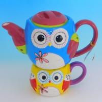 YW-00339 (12) Заварочный чайник  с кружкой