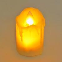 PP-00037 (40н.)  Набор из 24-ти свечей с дрожащим язычком, 4.5*5см