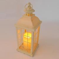PP-00005 (20) Фонарь со свечой,   33*12,5см