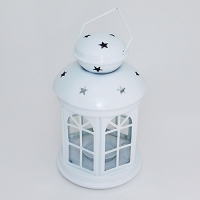 YW-00657W (36) Фонарь белый,   35*15см