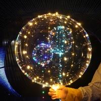 YW-00139/1 Воздушный шар Baby Balls, d=50 см с 50 LED подсветкой, на батарейках