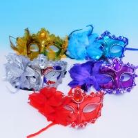 YW-00327/1 Набор из 6-ти карнавальных масок, 5 видов,  19см