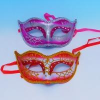 YW-00330/1 Набор из 6-ти карнавальных масок, 2 вида, 24см