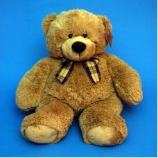 10A0242(8) медведь мягкий с бантом средний 36*15*46см