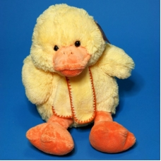 10A0497(18) Утенок желтый сиячий в шарфе 25*20*40см