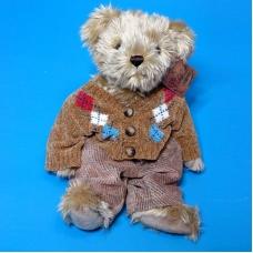 12H0025(16) Медведь мягкий в свитере с пугов.27*12*40см