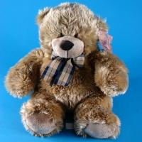 12H0056(20) Медведь мягкий сидячий 33*26*27см