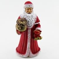 FP-197  Дед Мороз с подарком 15*12*32см