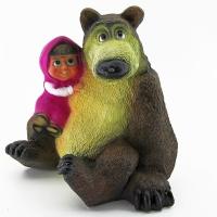 FP-257 Медведь с девочкой 34*24*32см