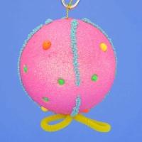 HT-02034(30) d-10см. Набор из 6 розовых шаров