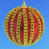 HT-04005 (30) d-10см. Набор из 6-ти красных шаров
