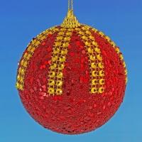 HT-04008 (30) d-10см. Набор из 6-ти красных шаров