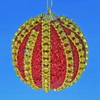 HT-07906 (30) d-10см. Набор из 6 красных шаров