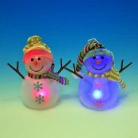 HY-891599 (48) 8*8*15см. Снеговик с LD подсветкой